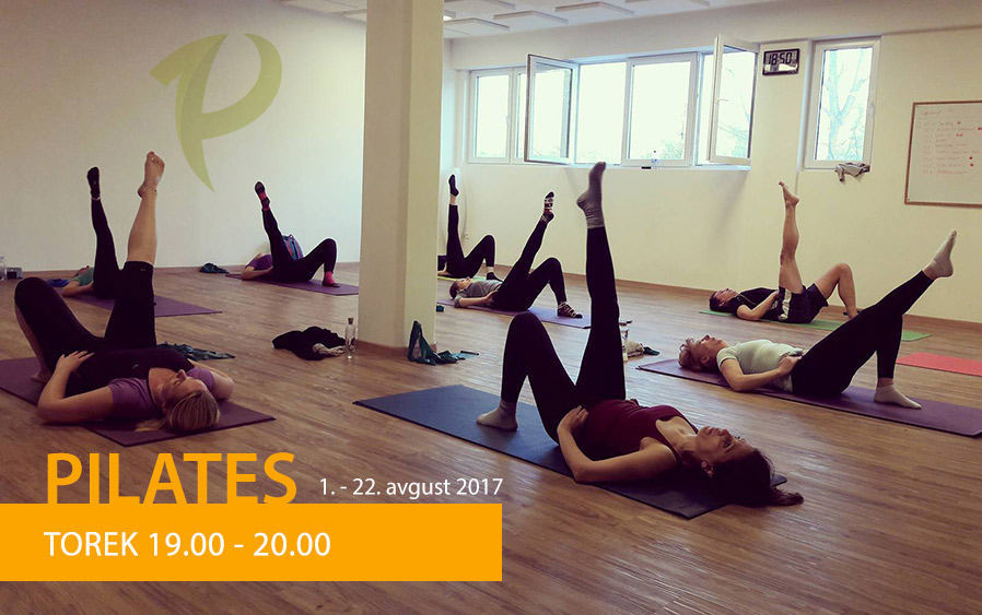 Pilates V Juniju In Avgustu 2017