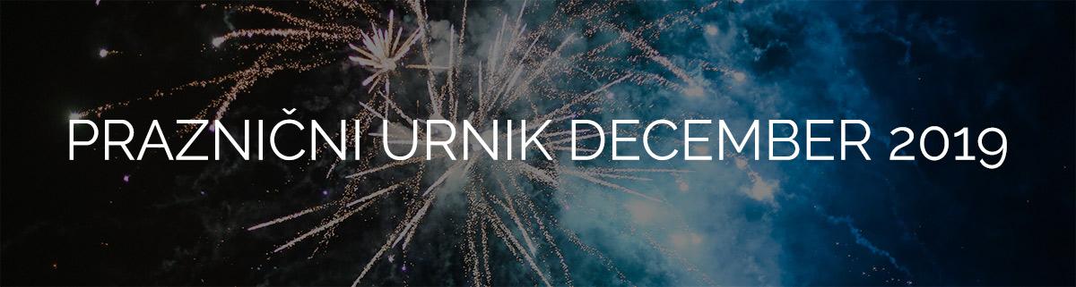 Decembrski Urnik 2019